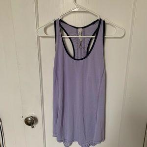 Lululemon purple workout top